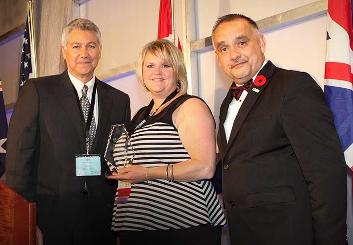 E-Comm trainer recognized with national award