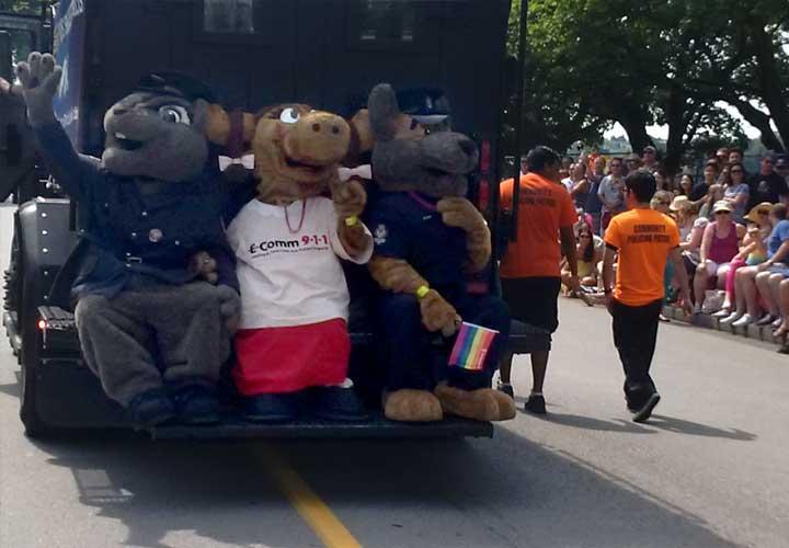 Ali at Pride Parade