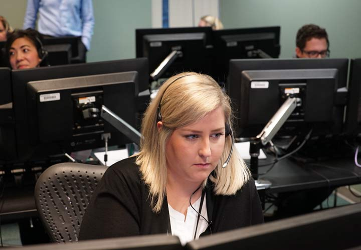 E-Comm 9-1-1 call-takers now answer approximately 57,000 emergency calls made each year from central Vancouver Island.
