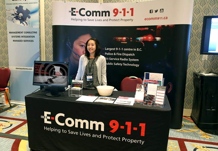 On February 22 & 23 E-Comm attended the CACP Information & Technology Workshop to provide public safety information to delegates.