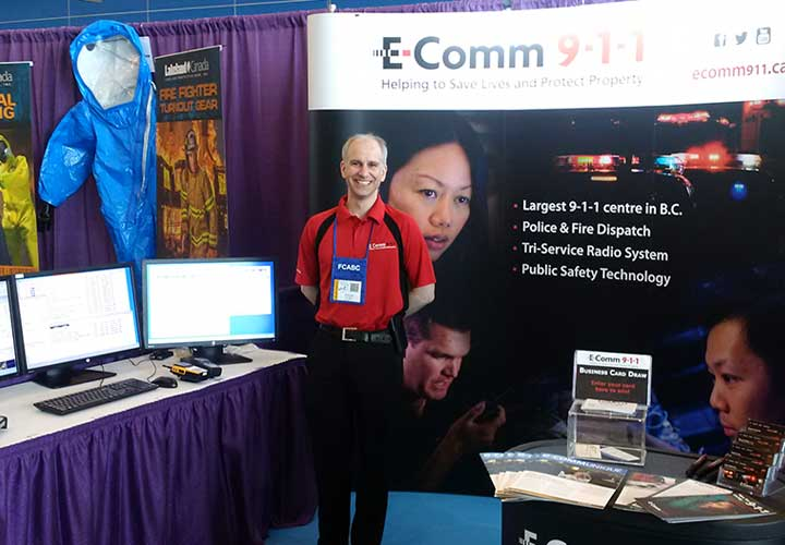 E-Comm attended the B.C. Fire Expo on June 5 & 6.