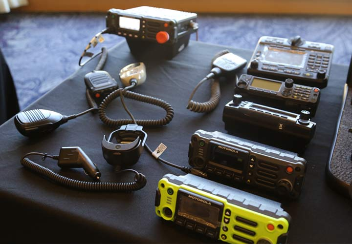 Image of new radios