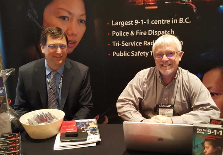 E-Comm's Technology Services at 10th Canadian Interoperability Technology Interest Group conference held in Vancouver.