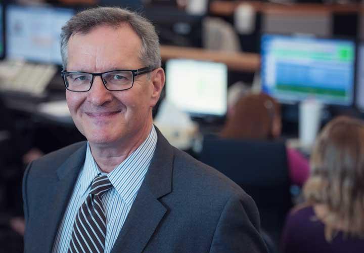 E-Comm Board Chair Doug Campbell