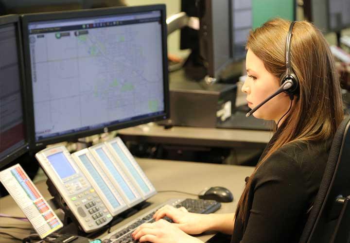 E-Comm 9-1-1 call-taker