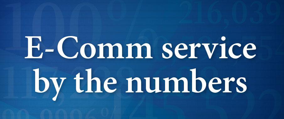 E-Comm service stats