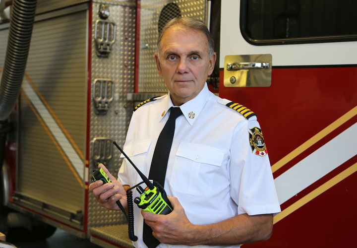 Port Coquitlam Fire & Emergency Services Chief Nick Delmonico