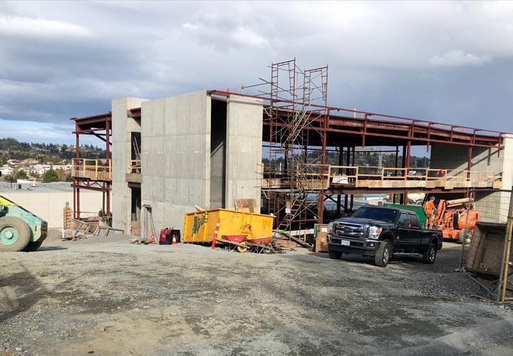 South Island 9-1-1 Police/Dispatch Centre construction