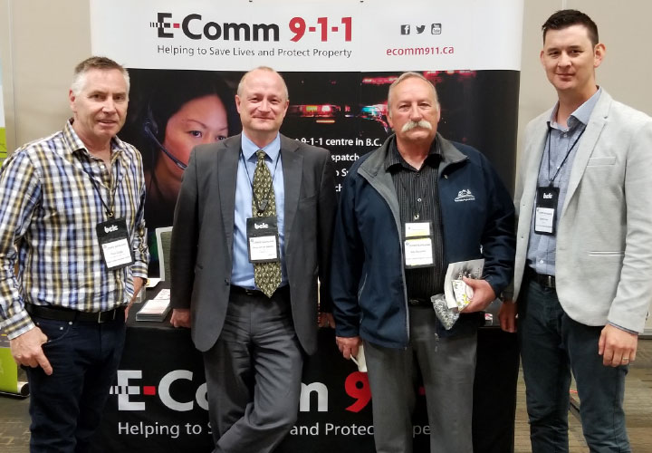 E-Comm President and CEO Oliver Grüter-Andrew meets with members of the Fraser Valley Regional District in Whistler on May 10, 2018.