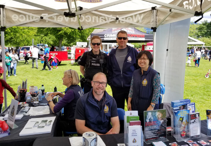 E-Com at the West Vancouver 2018 Community Day on June 2, 2018.