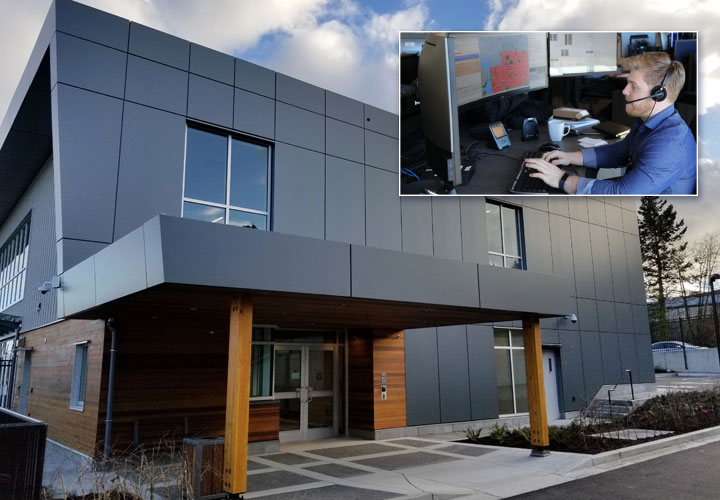 9-1-1 and police dispatch operational at new Vancouver Island Centre.