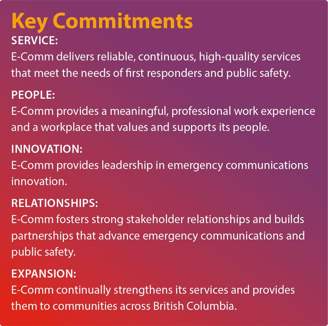 Key Commitments of Strategic Plan