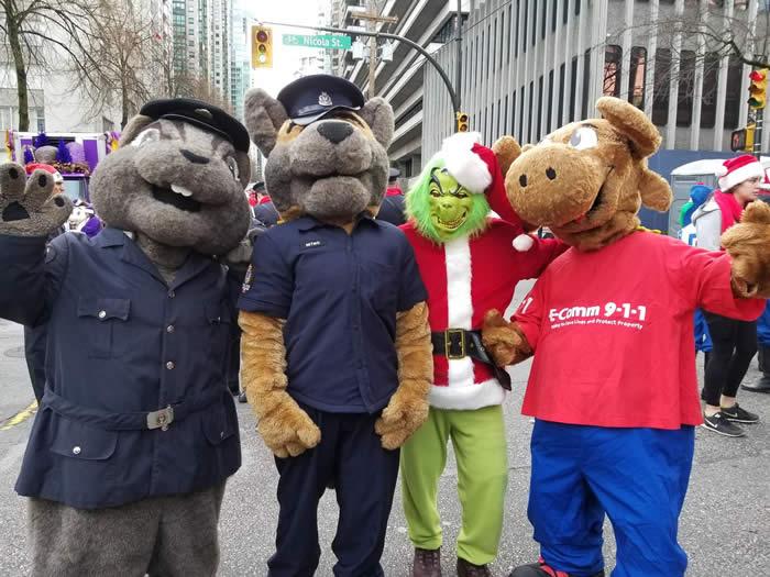 Vancouver Christmas Parade.Vancouver Santa Claus Parade 2017 E Comm 9 1 1